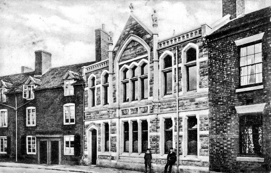 Wellington-Library-in-Edwardian-times