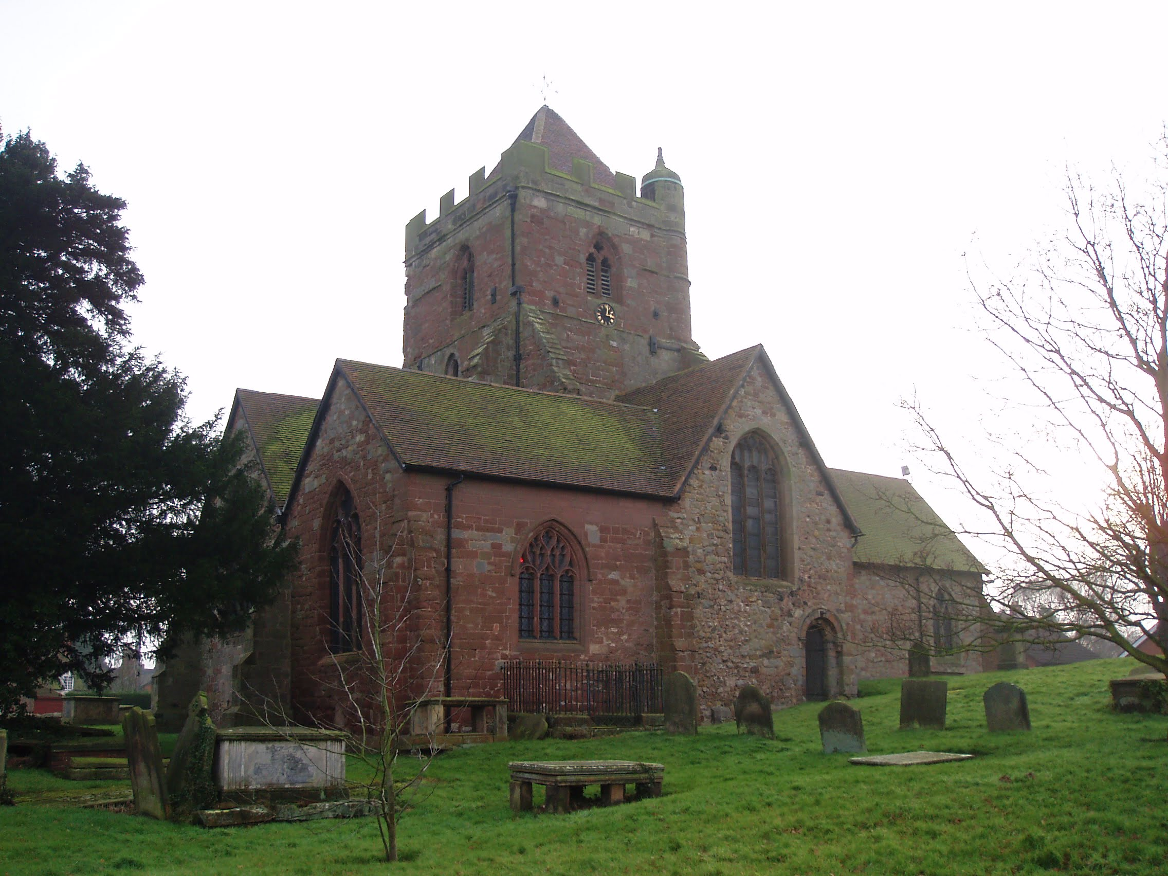 wrockwardine-church